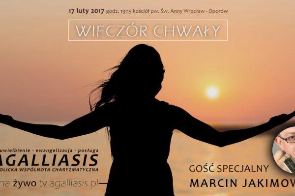 Wrocławski Wieczór Chwały z Marcinem Jakimowiczem