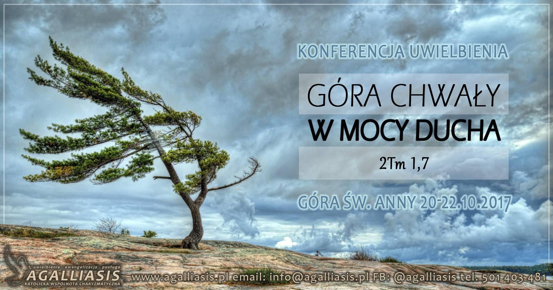 II Konferencja Uwielbienia - GÓRA CHWAŁY - Agalliasis